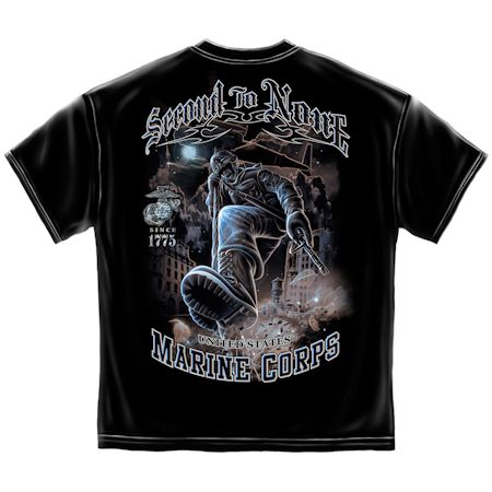 USMC Second To None Tshirt