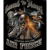 Second To None Air Force T-shirt