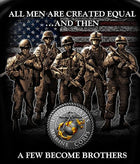 USMC A Few Became Brothers Tshirt