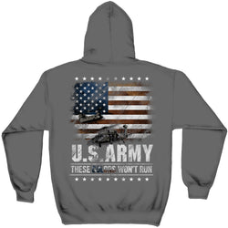 These Colors Wont Run US Army Sweatshirt