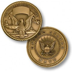 Fair Winds and Following Seas Coin