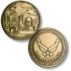Air Force Emblem Antique Coin