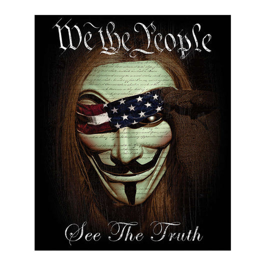We the People Fleece Blanket