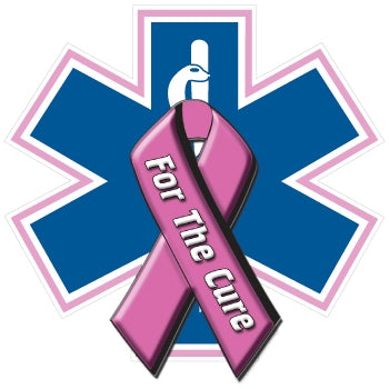 For The Cure Star of Life Decal