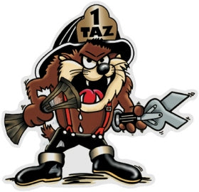 Taz Decal