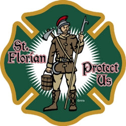 St Florian Decal
