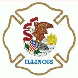 State-Illinois Decal