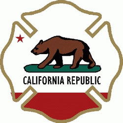 State-California Decal