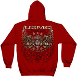 USMC Pride Duty Honor Foil Sweatshirt