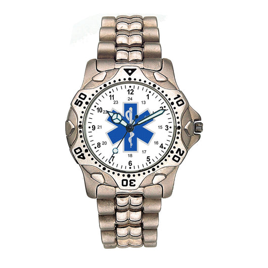 Stainless Steel Star of Life Watch