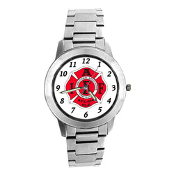 IAFF Silver Engravable Watch