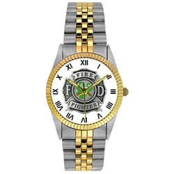 Irish Two Tone Engravable Watch