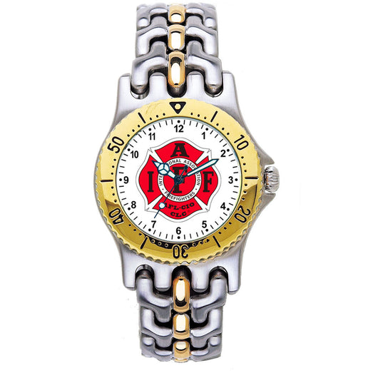 IAFF 2-Tone Engravable Watch