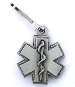 Star of Life Zipper pull