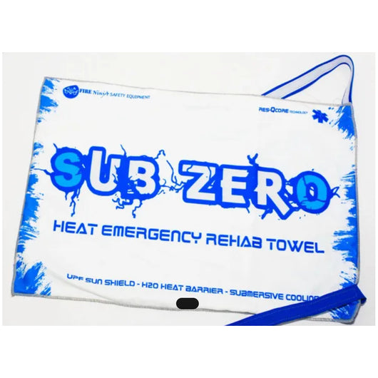 Cooling Firefighter Emergency Towel