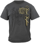 Firefighter Elite Breed Gray Tshirt