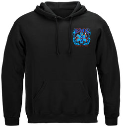 Elite Breed EMS Eagle Hooded Sweat Shirt