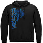 Elite Breed Star Of Life Hooded Sweat Shirt