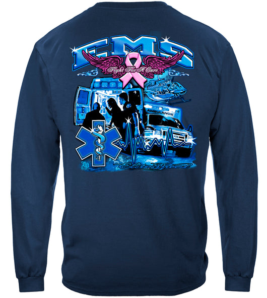 Elite Breed EMS Fight Cancer Long Sleeves