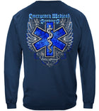 Elite Breed EMS Chrome Wings Silver Foil Long Sleeves