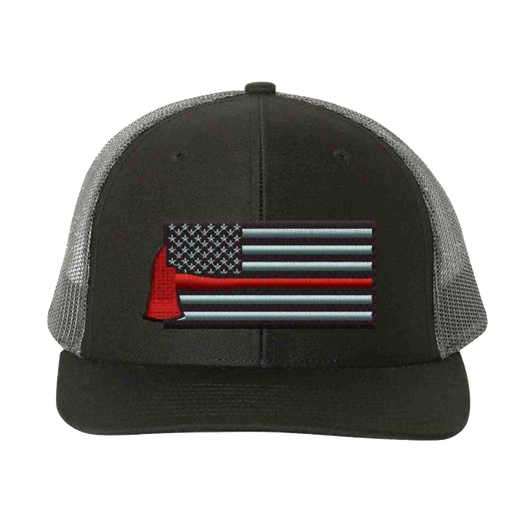 Thin Red Line Axe Flag Richardson Hat
