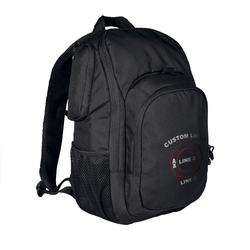 Customized TRU-SPEC Rambler Black Firefighter Backpack with Maltese Embroidery