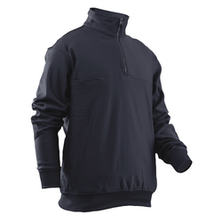 TRU-SPEC GRID Fleece Zip Thru Firefighter Job Shirt in Navy