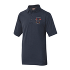 Customized TRU-SPEC Short Sleeve Duty Polo with Crossed Axes Embroidery