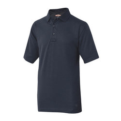 TRU-SPEC Short Sleeve Firefighter Duty Polo Shirt in Navy