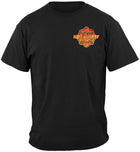 Hot & Dirty Fire Fighter T Shirt Firefighter Gifts