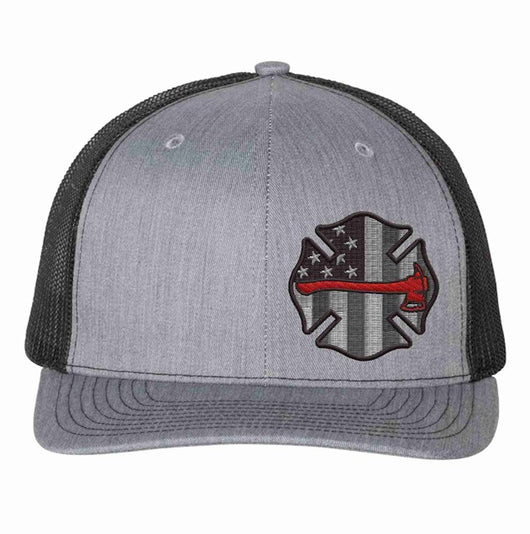 Thin Red Line Axe Maltese Richardson Hat