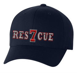 Personalized Rescue FlexFit Hat