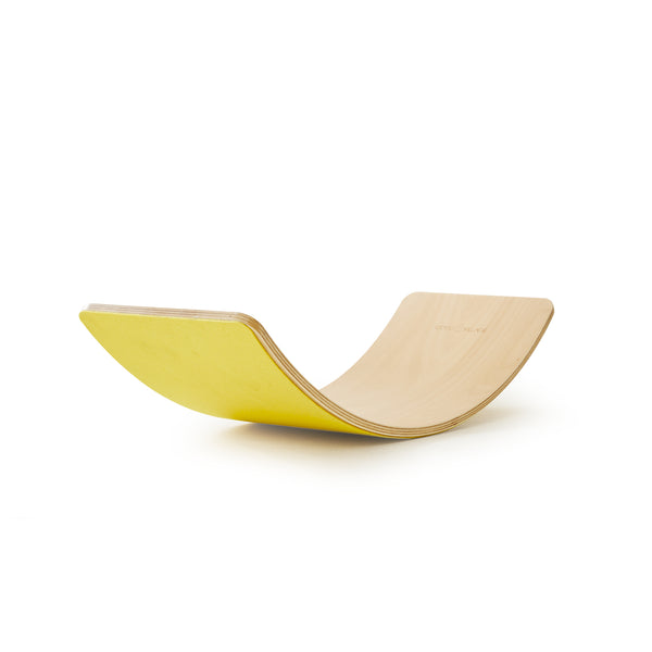 Balance Board - YELLOW FELT
