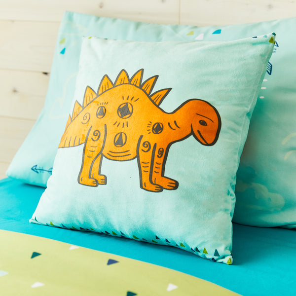 Dino square cushion