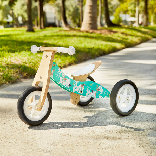 MINI / 2-in-1 Balance Bike - FLAMINGO