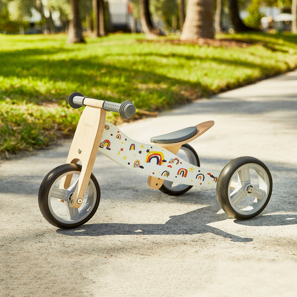 NANO / 2-in-1 Balance Bike - RAINBOW