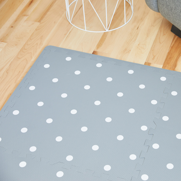 Playmat - WHITE DOTS
