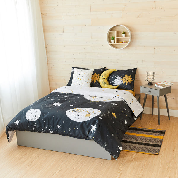 To the Moon Bedding Set - Full Size