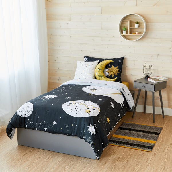 To the Moon Bedding Set - Twin Size
