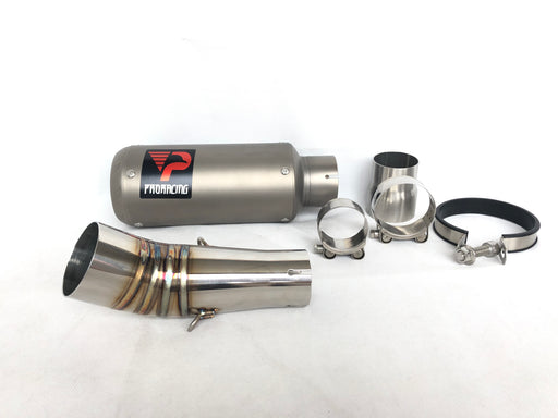Suzuki GSX-R 600/750 (11-14) ProRacing®Exhaust Link Pipe and Silencer Titanium