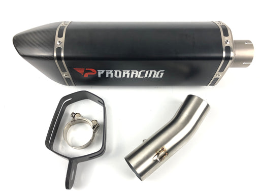 Suzuki GSX-R 1000 (09-14) ProRacing®Exhaust Decat and Silencer Titanium