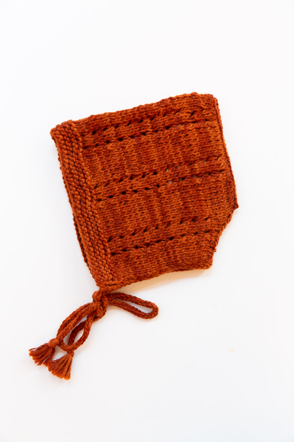 Sea Urchin Bonnet / Rust