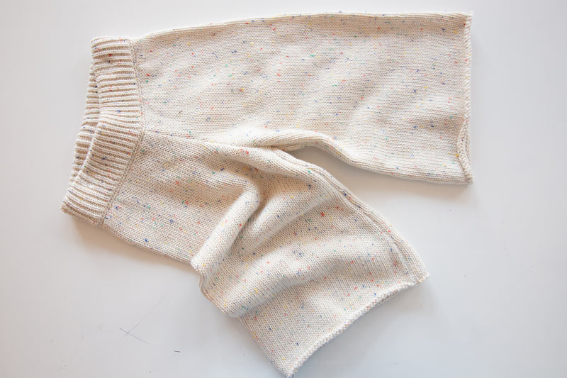Speckled Knit Pant