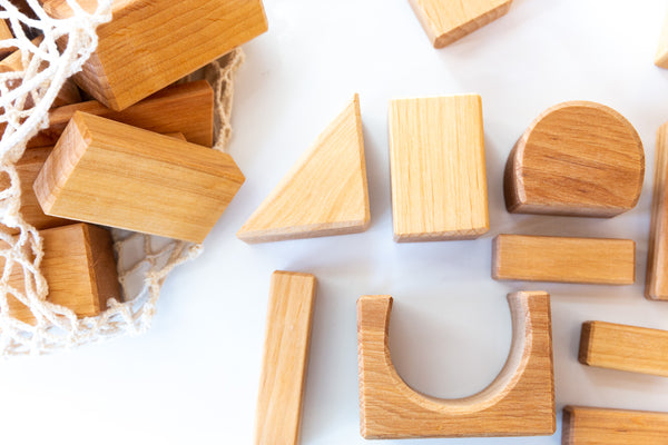 Wooden Geo Blocks