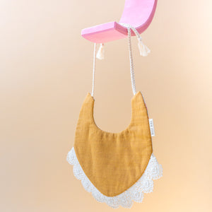 Copper Lace Bib
