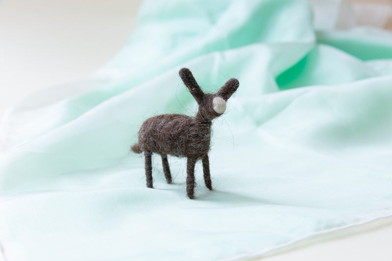 Mini Felted Animals