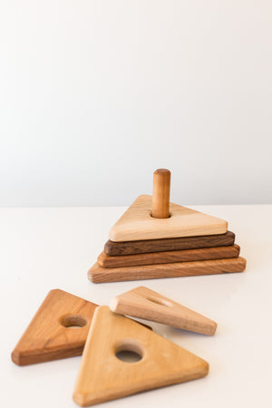Hardwood Triangle Stackers