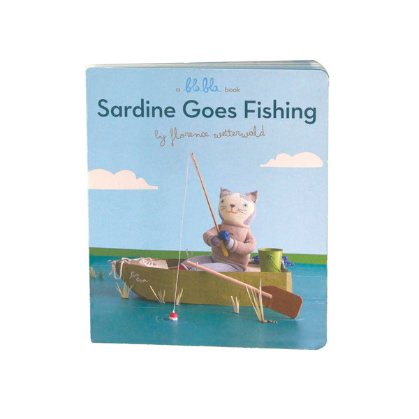 Sardine Goes Fishing Board Book