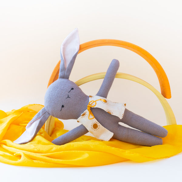 Bunny With Sun Burst Vest