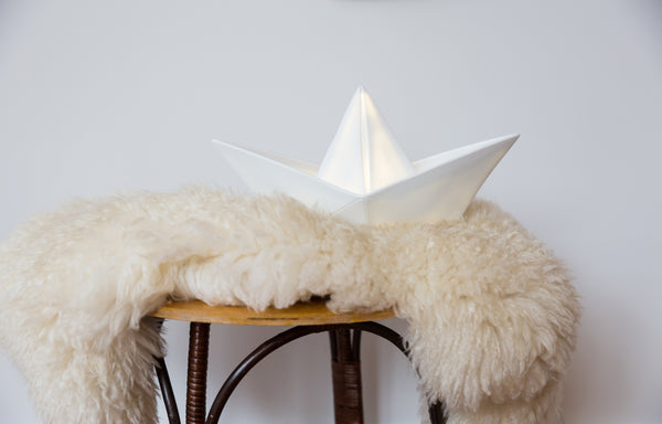 Origami Boat Nightlight